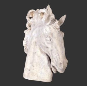 H-20501 Horse Roman Stone - Paard