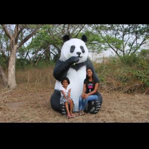 H-160039 Sitting Panda Jumbo