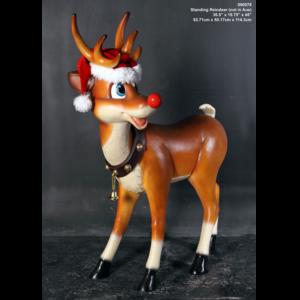 H-090078 Standing Reindeer - Rendier