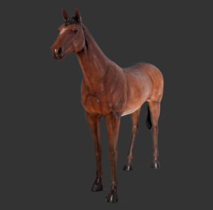 H-100019 Standing Horse - Paard