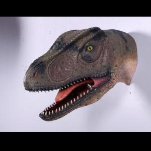 H-100052 Allo Saurus Head Mouth Open - Dinosaurus