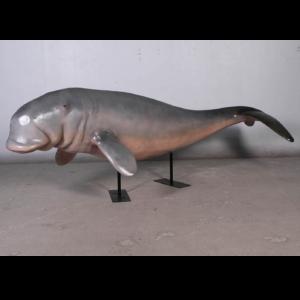 H-100128 Dugong on Metal Stand - Doejong