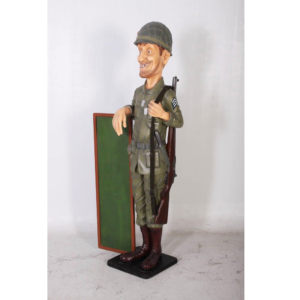 H-110003 Skinny Soldier - Soldaat