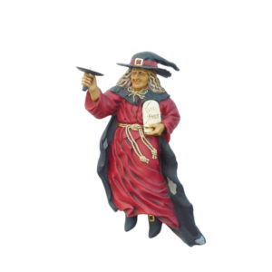1118 Heks Wall Candle Holder Right- Halloween