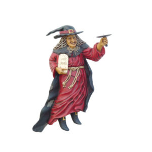 1165 Witch Wall Candle Holder Left- Heks
