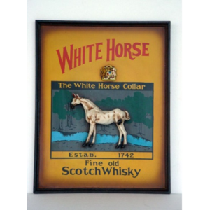 0121 White Horse - Pubbord