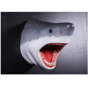 H-130046 Haai Great White Shark Head - Haai