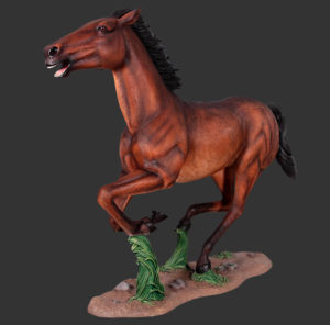 H-130054 Galloping Horse - Paard