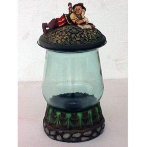 1373 Boy with Jar Glass - Pinokkio
