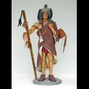 1377 Indian Medicine Man - Indiaan
