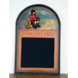 0138 Menu To Days Finefood Gypsy - Menubord