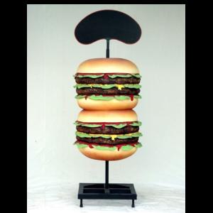 X1381 Broodje Hamburger - 204 cm