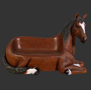 H-130004 Horse Seat - Paardenbank - Paard
