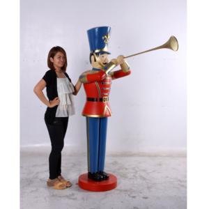 H-140007 Toy Soldier with Trumpet 6ft. - Nutcracker