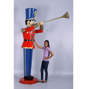 H-140008 Toy Soldier Trumpet 9ft. - Notenkraker