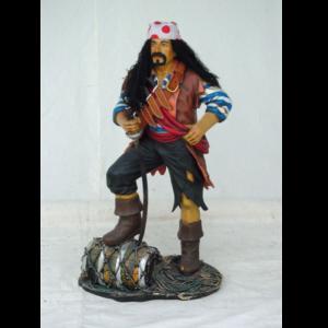 1436 Pirate with Barrel - Piraat