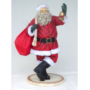 1460 Santa Claus with Beard 4 ft. - Kerstman