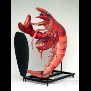 1462 Lobster Display - Kreeft