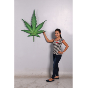 H-150020 Cannabis Leaf - Wietblad - 100 cm