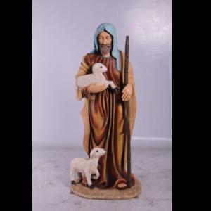 H-150048 Christmas Stable Shepherd 6 ft - Kerststal