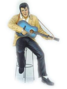 1512 Elvis Presley with Gitaar - Elvis Beelden