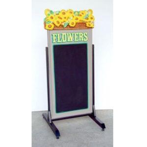1564 Swing Plate Flower - Stoepbord