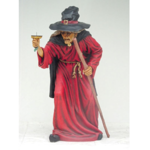 1589 Witch Life Size - Heks