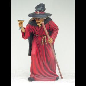 1589 Witch Life Size - Heks