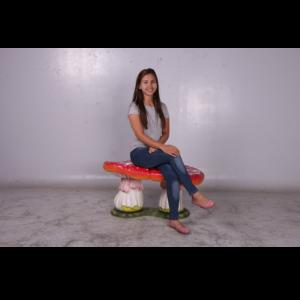 H-160013 Double Mushroom Seat Medium - Paddenstoel