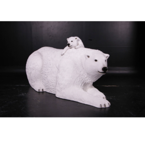 H-160060 Polar Bear with Cub - IJsbeer