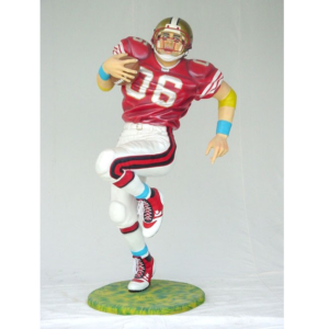 1619 Football American Player Life Size