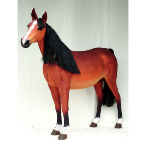 1694 Horse Life Size - Paard