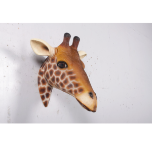 H-170001 Giraffe Head Wall Decor - Giraf