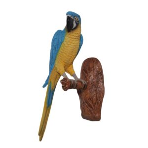 H-170015 Blue and Yellow Macaw Parrot - Papegaai