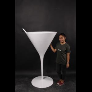 H-170234 Coctail Glass White - Coctailglas - 165 cm