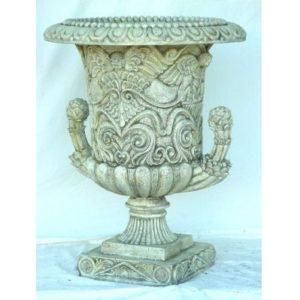 1735 Garden Vase Corinthian Big White - Plantenbak