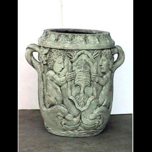 1761 Garden Jar Athena White - Plantenbak