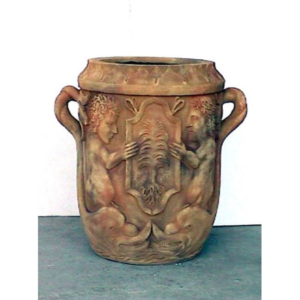 1762 Garden Jar Athena Sandstone - Plantenbak