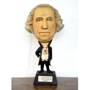 1786 First President George Washington - Big Head