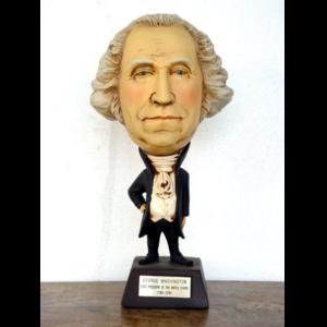 1786 First President George Washington - Big Head