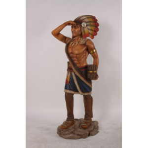 H-180055 Native Tabacco Indian 6ft - Indiaan