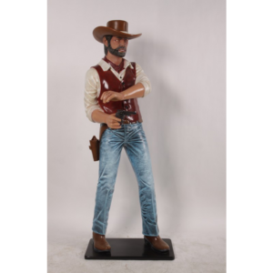 H-180147 Cowboy Gunslinger 6 ft.