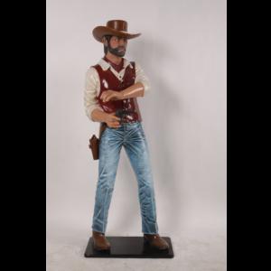 H-180147 Cowboy Gunslinger 6 ft.