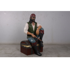 H-180182 Pirate Schatkist - Piraat