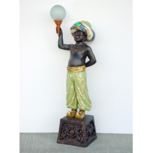 1803-A Right Lamp Holder Arabian - Lamp