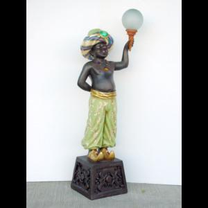 1803-B Left Lamp Holder Arabian - Lamp