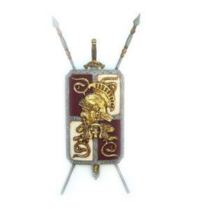 1850 Shield Roman Romeins Schild - Romein