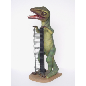 1870 Dinosaurs T-Rex CD Rack - Dinosaurus
