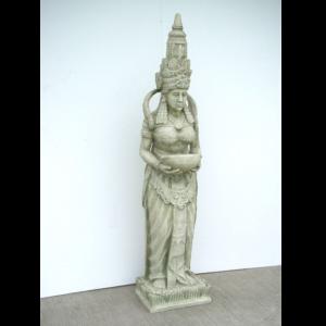 1883 Fountain Bali Girl Stone Finish - Fontein