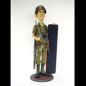 1885 Butler Soldier Menubord - Soldaat